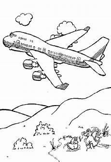 ausmalbilder flugzeug 04 ausmalbilder