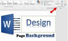 Designs For Microsoft Word How To Design Page Background In Microsoft Word 2016