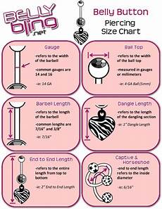 Belly Piercing Chart 14 Piercing Charts You Wish You Knew About Sooner