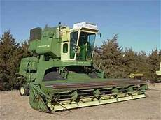 Used Farm Tractors For Sale John Deere 105 Combine 2003