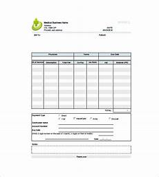 Medicine Bill Format In Word 12 Medical Invoice Template Free Word Excel Pdf