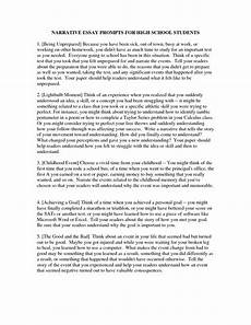 Narrative Essay Prompts 019 Narrative Essay Prompts Example Writing For Middle