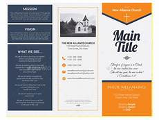 Information Pamphlet Template 10 Popular Church Brochure Templates Amp Design Free Psd