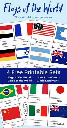 Flags Of The World Chart Printable Country Flags Of The World A Fun Geography Lesson 4 Free