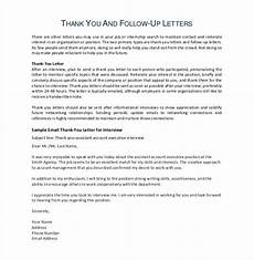 Follow Up Thank You Email 11 Thank You Email After Teaching Interview Pdf Doc