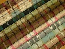 details about wool effect washable thick tartan plaid