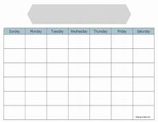 Printable Blank Calendar Blank Calendar To Print For Free Keeping Life Sane