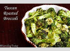 Tuscan Roasted Broccoli: Thanksgiving (or Anytime) Side