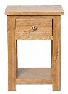 waverly oak l side table with drawer hallowood