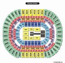 Honda Center Seating Chart Honda Center Anaheim Ca Seating Chart View