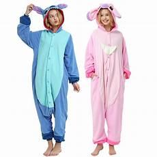 stitch onesie unisex kigurumi pajama for