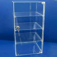 custom clear rectangle acrylic display cabinet pmma