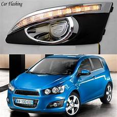 Chevy Aveo Lights Car 2pcs Led For Chevrolet Chevy Aveo Sonic 2011