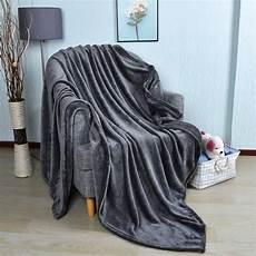 soft fluffy flannel blanket elite housewares