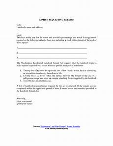 Letter To Landlord Requesting Repairs Template Tenant Warning Letter Template Examples Letter Template
