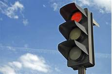 Red Light Stop On Red Running A Red Light Is Dangerous Traffic