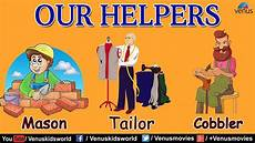 Our Helpers Chart Our Helpers Mason Tailor Cobbler Part 2 Youtube