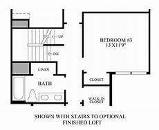Floor Plan Stairs Rivington By Toll Brothers The Ridge Collection The