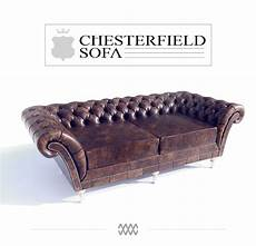 Coach Covers For Sofa For 3 3d Image by Chesterfield Sofa Free 3d Model On Behance