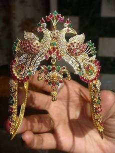 Arm Vanki Designs In Gold Gold And Diamond Jewellery Designs Ara Vanki And Vaddanam