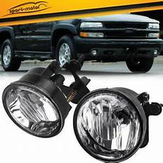 04 Chevy Tahoe Lights For 04 06 Chevy Tahoe Suburban Z71 Clear Front Bumper Fog