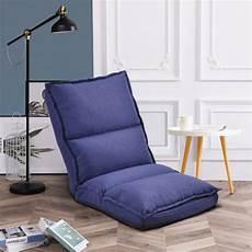 Folding Lazy Sofa Floor Chair 3d Image by Euroco Fabric Upholstered Folding Lazy Sofa Chair