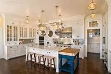 kitchen island with pot rack 15 kitchens with pot racks pictures