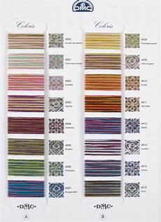 Dmc Chart Dmc Coloris Color Chart