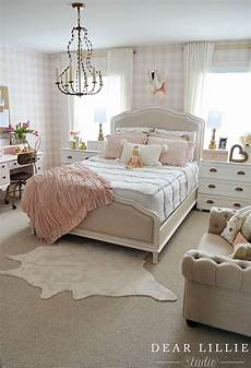sweet feminine bedroom inspiration for a burst