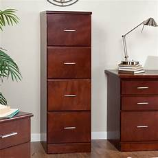 valona modern custom 4 drawer filing cabinet cherry