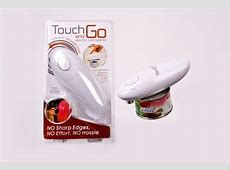 Touch and Go Can Opener   White
