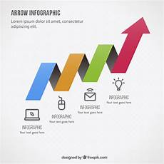 Infographic Arrow Colorful Arrow Infographic Template Vector Free Download