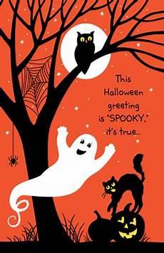 Spooky Halloween Cards Spooky Greetings Greeting Card Halloween Printable Card