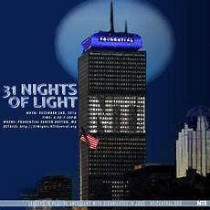 Prudential Center Lights Honoring Nti At The 31 Nights Of Light Event In Boston Ma