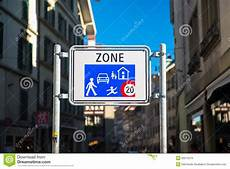 Home Zone Home Zone Entry Sign Stock Image Image Of Rule Caution