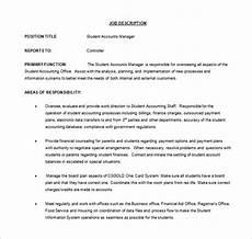 Account Manager Job Description Sample 11 Account Manager Job Description Templates Free