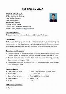 Cv Meaning Resume New Cv Rohit