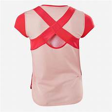 Decathlon T Shirt Size Chart India Girls Breathable Short Sleeved Gym T Shirt Decathlon