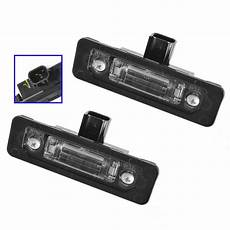 2013 Ford Focus License Plate Light Replacement Ford License Plate Light Assemblies Left Amp Right Pair Set