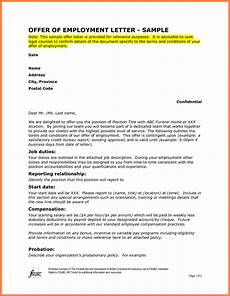 Letters Offering Employment 10 Offer Of Employment Letter Marital Settlements