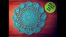 crochet doilies how to crochet easy doily