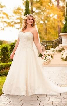 wedding dresses lace plus size bridal gown stella york