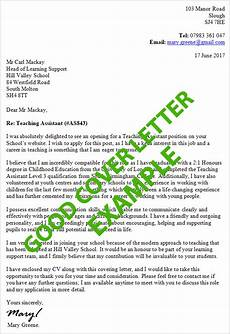 Structure Of A Good Cover Letters Example Of A Good Cover Letter