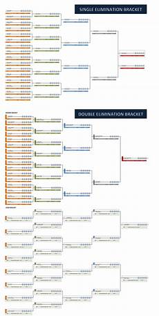 Tournament Table Template Single And Double Elimination Tournament Bracket Creator