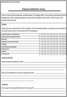 Survey Sheet Template Blank Survey Template Free Amp Premium Templates