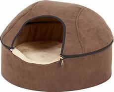 k h pet products thermo dome cat bed chocolate
