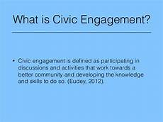 Civic Activities Definition Social Media And Civic Engagement