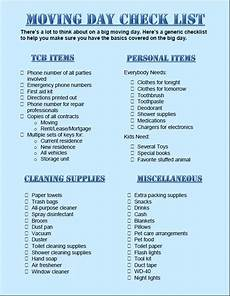 To Do Lists For Moving Moving Checklist Printable Google Search Tampa And