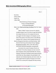 How To Format A Essay In Mla Mla Format Annotated Bibliography Google Search