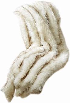 Throw Blankets For Sofa Png Image by Artic White Lynx Faux Fur Throw Design By Tozai Decorist
